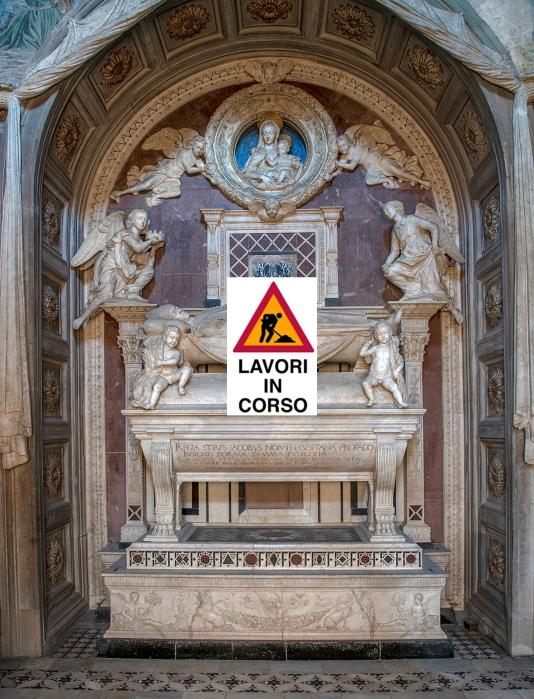 Cappella del Cardinale del Portogallo, Antonio Rossellino, Tomba del Cardinale copia