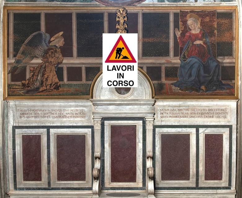 Cappella del Cardinale del Portogallo, Baldovinetti, Annunciazione_ copia